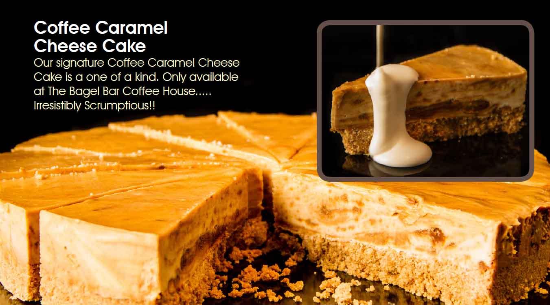 Coffee Caramel Cheesecake