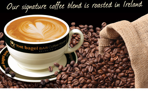 Our Signature Coffee Blend is Roasted in Ireland