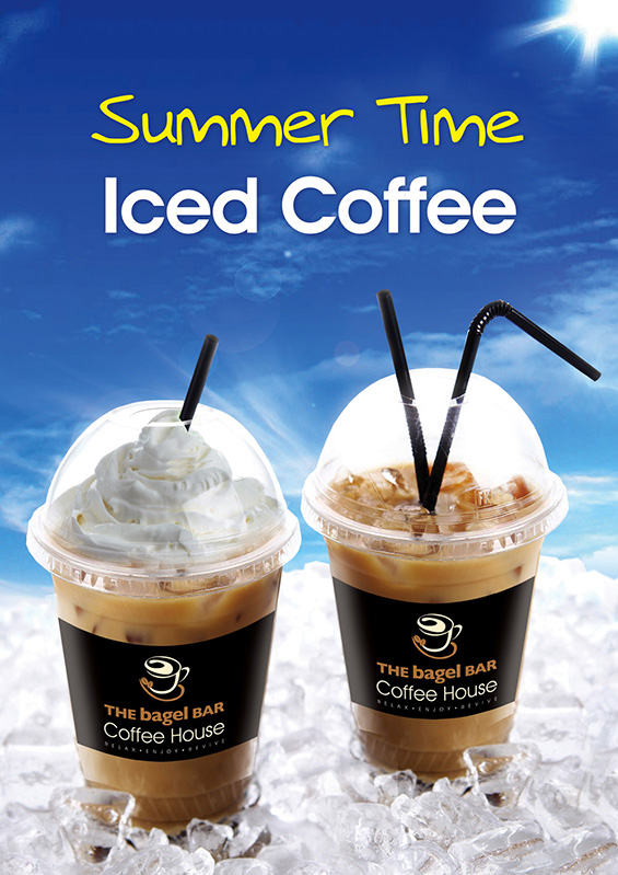 Iced Coffee Menu - Frappacino