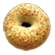 Cheese and Jalapeno Bagel